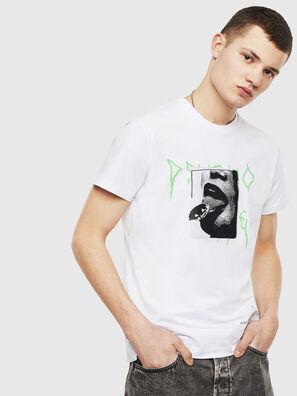 T-DIEGO-S12, Blanco - Camisetas