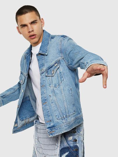 Diesel - D-BRAY, Blue Jeans - Chaquetas de denim - Image 4