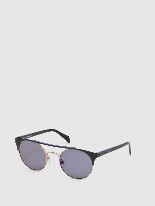 Diesel - DL0218, Negro/Azul - Gafas de sol - Image 4