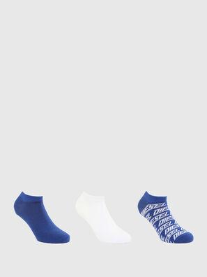 SKM-GOST-THREEPACK, Azul marino/Blanco - Calcetines