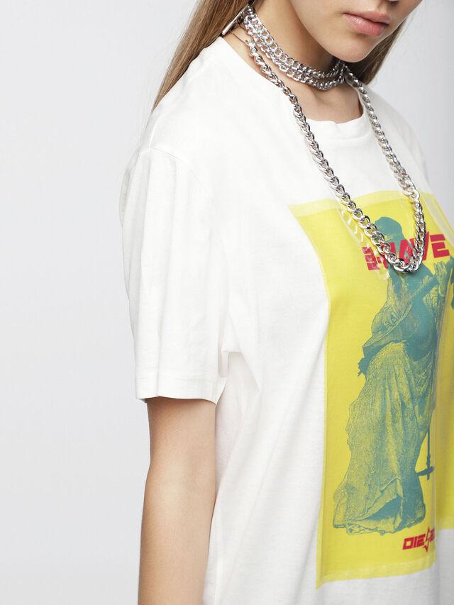 Diesel - T-DARIA-C, Blanco - Camisetas - Image 3