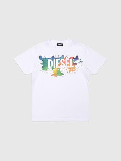 Diesel - TDOSKY, Blanco - Camisetas y Tops - Image 1