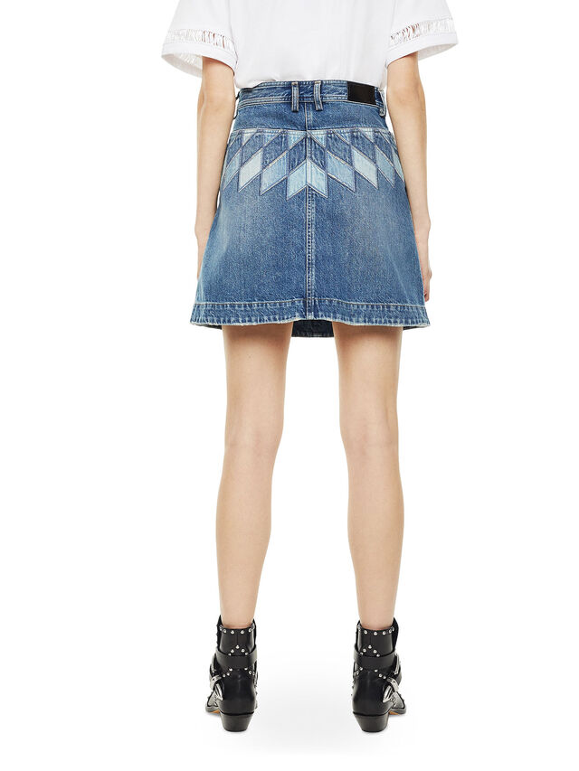 Diesel - OSSANA, Blue Jeans - Faldas - Image 2