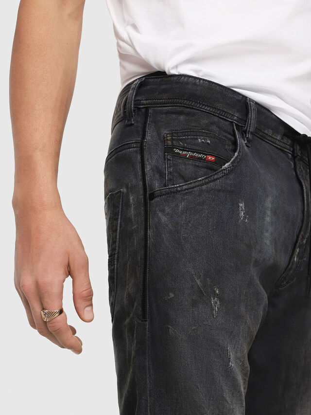 Diesel - Krooley JoggJeans 069IA, Black Jeans - Vaqueros - Image 3