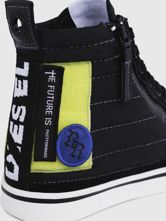Diesel - D-VELOWS MID PATCH W, Negro - Sneakers - Image 5