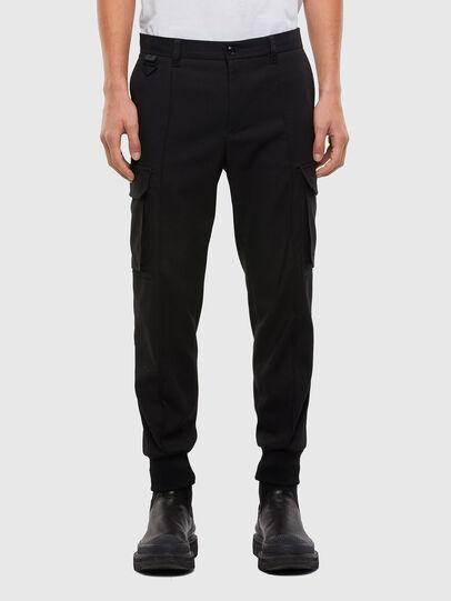 Diesel - P-SONG, Negro - Pantalones - Image 1