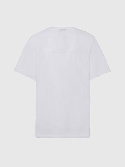 Diesel - T-TUBOLAR-X20, Blanco - Camisetas - Image 2