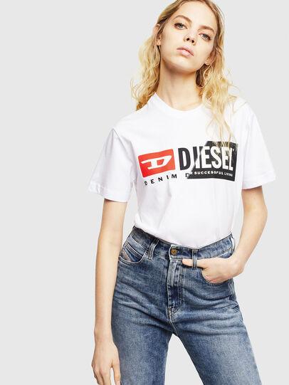 Diesel - T-DIEGO-CUTY, Blanco - Camisetas - Image 6