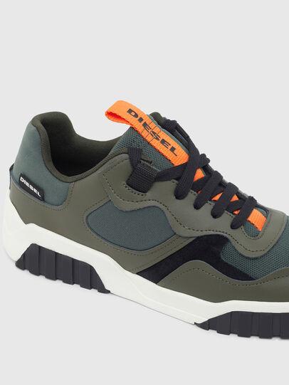 Diesel - S-RUA LOW SK, Verde Oliva - Sneakers - Image 4