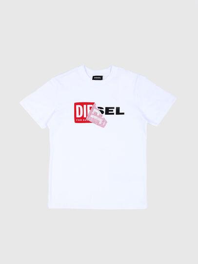 Diesel - TDIEGO, Blanco/Rojo - Camisetas y Tops - Image 1