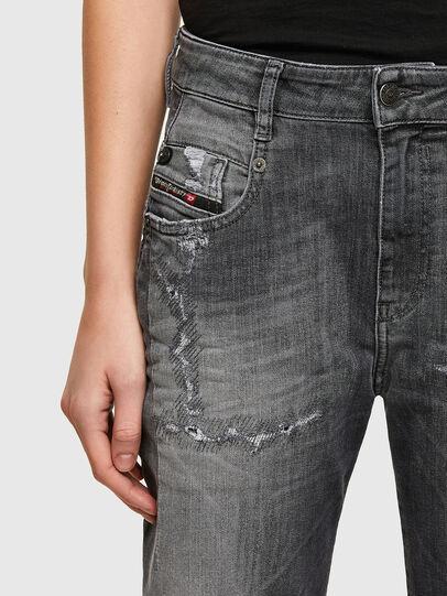 Diesel - Fayza JoggJeans® 009QT, Negro/Gris oscuro - Vaqueros - Image 3