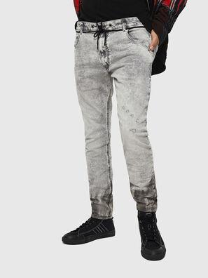 Krooley JoggJeans 0091H, Gris Claro - Vaqueros