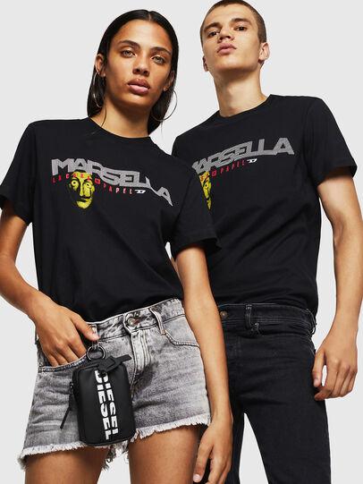 Diesel - LCP-T-DIEGO-MARSELLA, Negro - Camisetas - Image 6