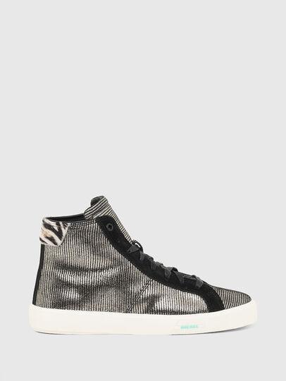 Diesel - S-MYDORI MC W, Gris/Negro - Sneakers - Image 1
