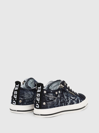 Diesel - EXPO-ZIP LOW W, Azul Oscuro - Sneakers - Image 3