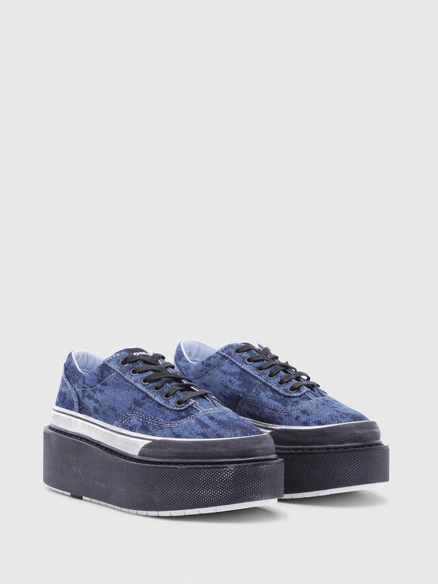Diesel - H-SCIROCCO LOW, Azul - Sneakers - Image 2