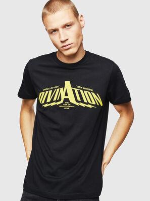 T-DIEGO-B16, Negro - Camisetas