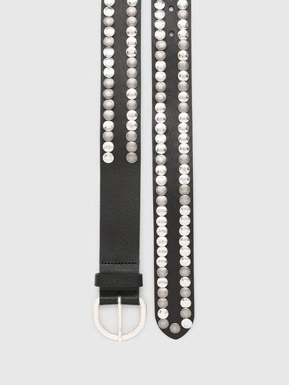 Diesel - B-MEOLO, Negro - Cinturones - Image 4