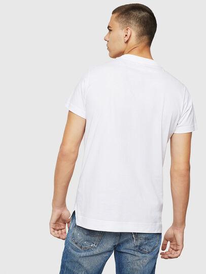 Diesel - T-LAZAREV, Blanco - Camisetas - Image 2