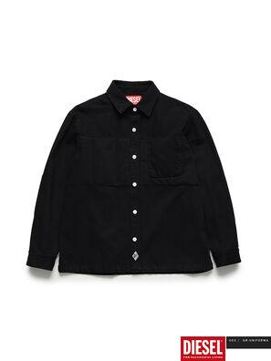 GR02-B301, Negro - Camisas de Denim