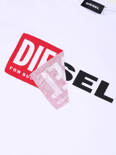 Diesel - TDIEGO, Blanco/Rojo - Camisetas y Tops - Image 3