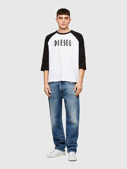Diesel - T-BEISBOL, Blanco - Camisetas - Image 4