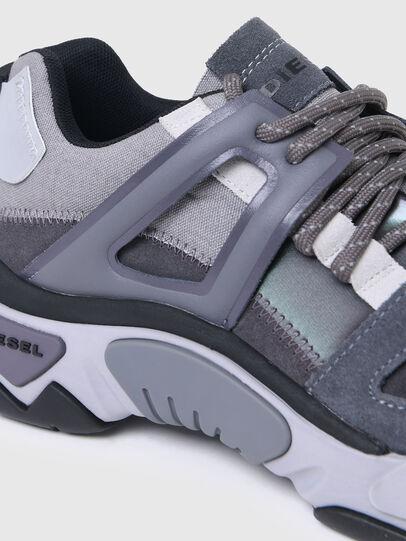 Diesel - S-KIPPER LOW TREK II, Gris - Sneakers - Image 4