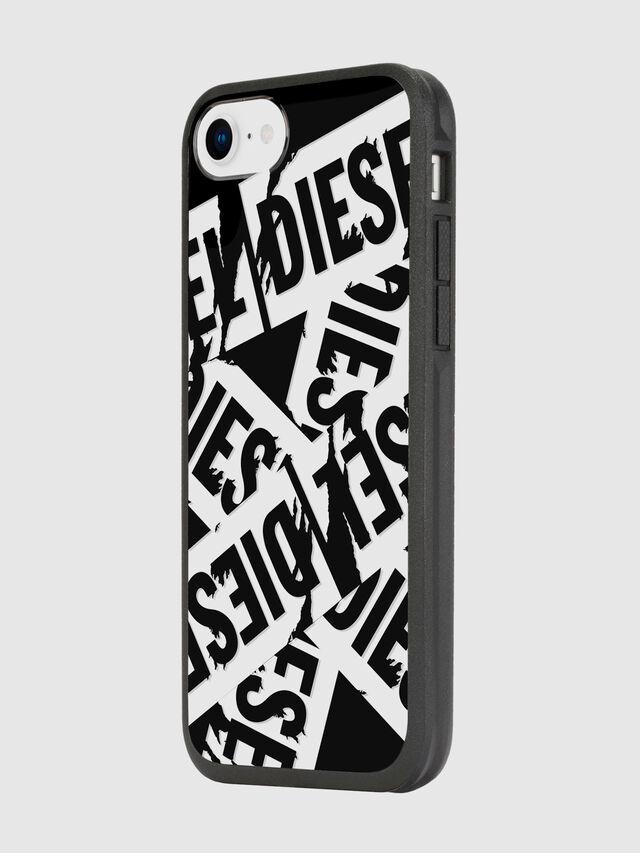 Diesel - MULTI TAPE BLACK/WHITE IPHONE 8/7/6S/6 CASE, Negro - Fundas - Image 5