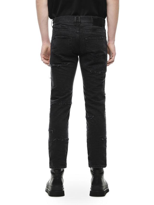 Diesel - TYPE-2813E, Black Jeans - Vaqueros - Image 2