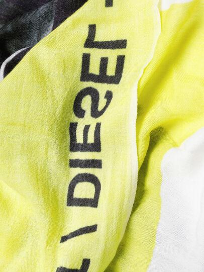 Diesel - SRIGHT, Blanco/Amarillo - Bufandas - Image 3