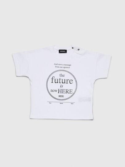 Diesel - TARTIB, Blanco - Camisetas y Tops - Image 1