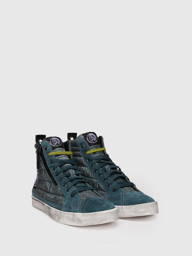 Diesel - D-VELOWS MID PATCH, Verde Agua - Sneakers - Image 3