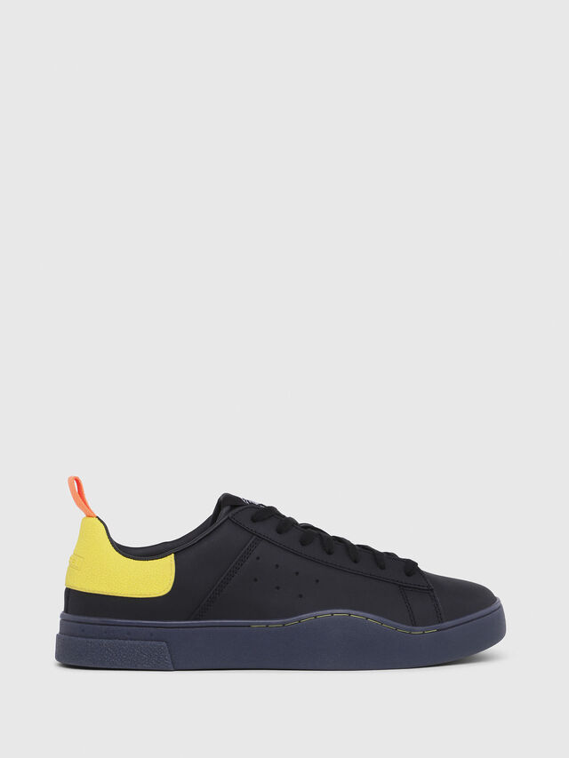 Diesel - S-CLEVER LOW, Negro/Amarillo - Sneakers - Image 1