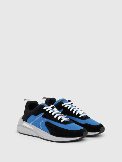Diesel - S-SERENDIPITY LOW CU, Negro/Azul marino - Sneakers - Image 2