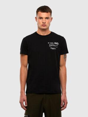 T-DIEGOS-N21, Negro - Camisetas