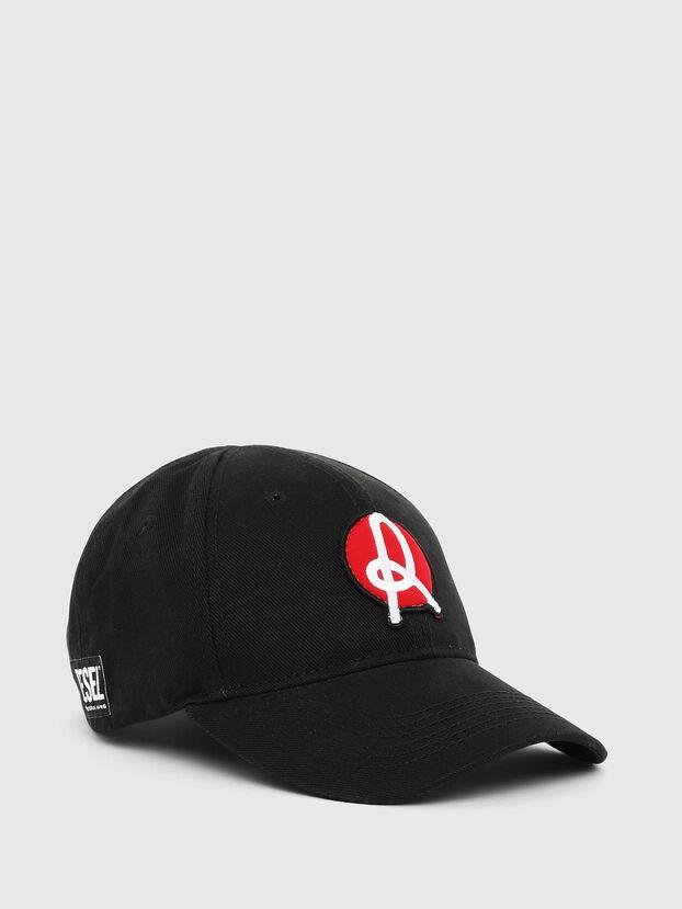 LR-CAP, Negro - Gorras
