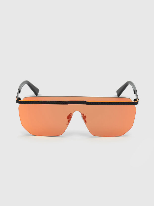 DL0259, Naranja/Negro - Gafas de sol