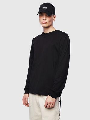 T-HUSTY-LS, Negro - Camisetas