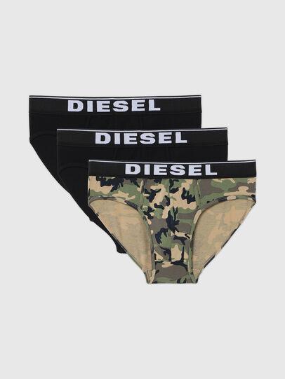 Diesel - UMBR-ANDRETHREEPACK, Gris/Negro - Slips - Image 1