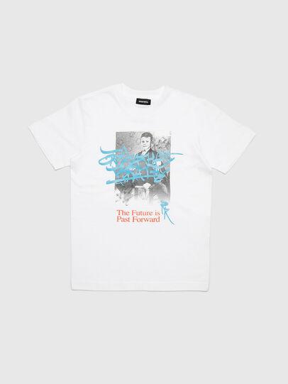 Diesel - TJUSTYC, Blanco - Camisetas y Tops - Image 1