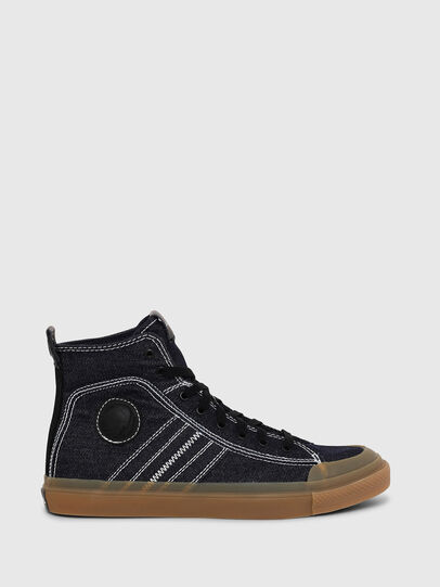 Diesel - S-ASTICO MID LACE, Azul Oscuro - Sneakers - Image 1