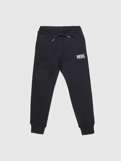 Diesel - PTARYLOGO, Negro - Pantalones - Image 1