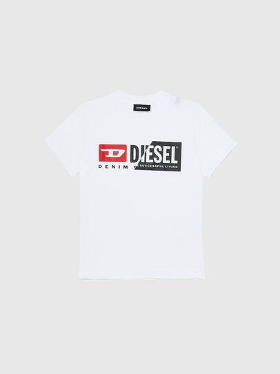 Diesel - TDIEGOCUTYB-R, Blanco - Camisetas y Tops - Image 1