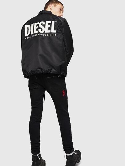 Diesel - J-AKIO-A, Negro - Chaquetas - Image 6
