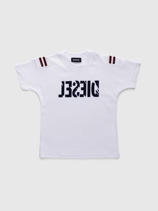 Diesel - TRYLLB-R, Blanco - Camisetas y Tops - Image 1