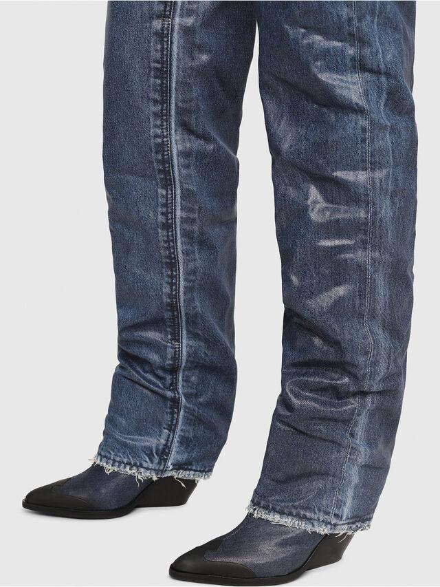 Diesel - D-WEST OTK, Blue Jeans - Botas - Image 4