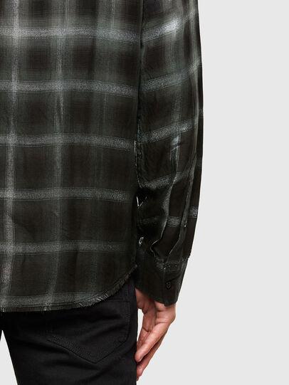 Diesel - S-KEITH, Negro/Blanco - Camisas - Image 4