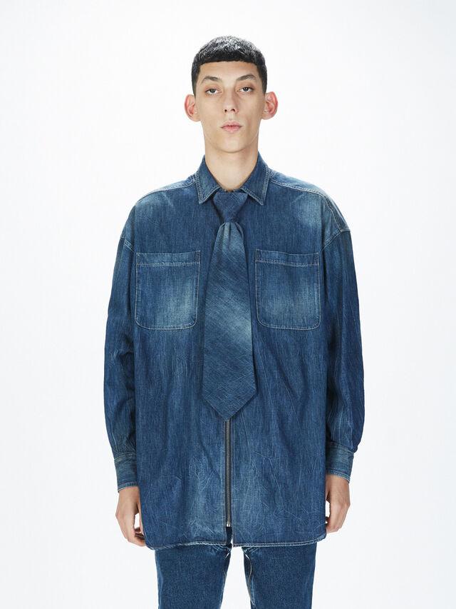 Diesel - SOTS01, Blue Jeans - Camisas - Image 3