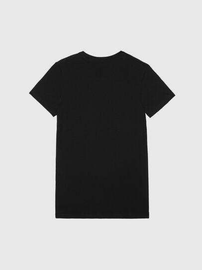 Diesel - UFTEE-SILY-INT, Negro - Camisetas - Image 2