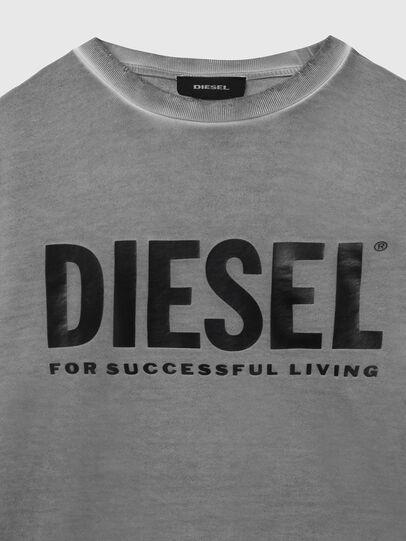 Diesel - S-GIR-DIVISION-LOGO, Gris oscuro - Sudaderas - Image 3